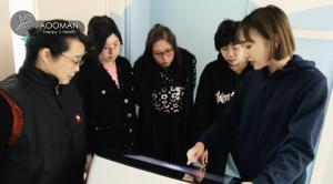奥漫团队赴天津市河西区启智学校智能培训
